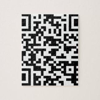 サンプルBitcoin QRコード ジグソーパズル
