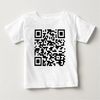 サンプルBitcoin QRコード ベビーTシャツ