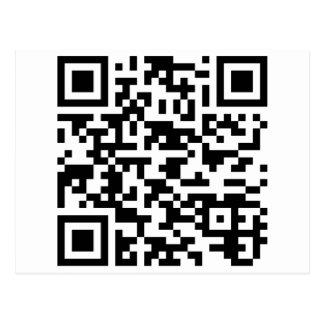 サンプルBitcoin QRコード ポストカード
