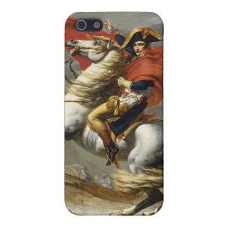 サンベルナール峠の壮大なパスを交差させているナポレオン iPhone 5 CASE
