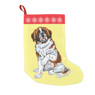 サンベルナール峠犬 スモールクリスマスストッキング