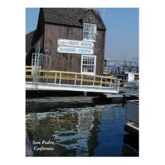 サンペドロのボートハウス ポストカード