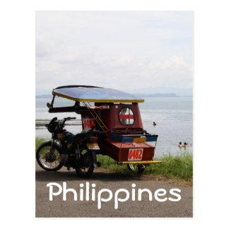 サンペドロ湾の三輪車 ポストカード