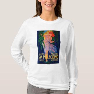 サンペレグリノのヴィンテージPosterEurope Tシャツ