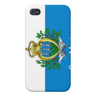 サンマリノの旗 iPhone 4/4S カバー