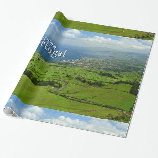 サンミゲルの緑の景色 ラッピングペーパー