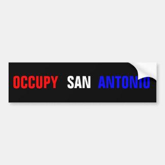 サン・アントニオを占めて下さい バンパーステッカー