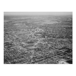 サン・アントニオ1939年の空中写真 ポストカード