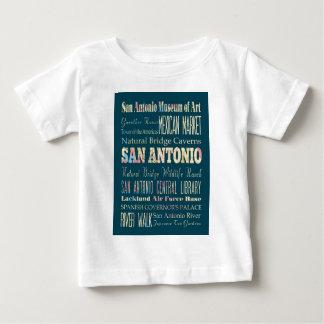 サン・アントニオ、テキサスの魅力及び有名な場所 ベビーTシャツ