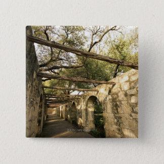サン・アントニオ、テキサス州の細道 5.1CM 正方形バッジ