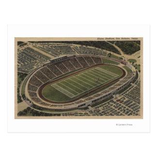サン・アントニオ、テキサス州-アラモの競技場の眺め ポストカード