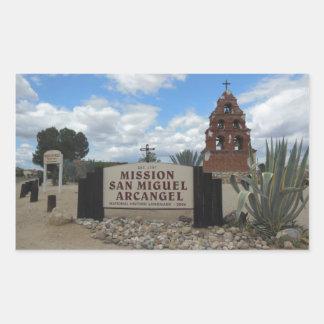 サン・ミゲルの代表団の鐘桜および印 長方形シール