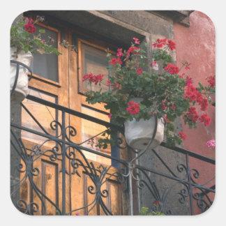 サン・ミゲルdeの通りの建築 スクエアシール