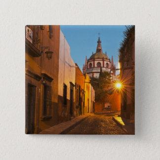 サン・ミゲルdeアジェンデ、メキシコ。 信用次のように: ナンシー 5.1cm 正方形バッジ