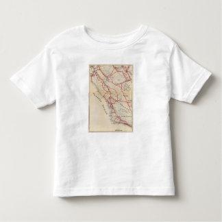サンBenito、フレズノ、モンテレー、San Luis Obispo トドラーTシャツ