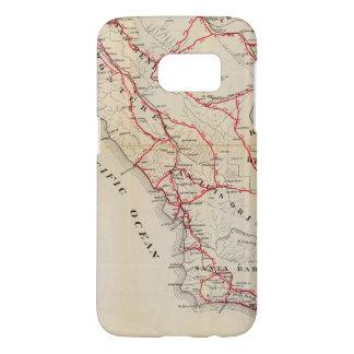 サンBenito、フレズノ、モンテレー、San Luis Obispo Samsung Galaxy S7 ケース