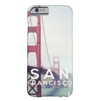 サンFransiscoを探検して下さい Barely There iPhone 6 ケース