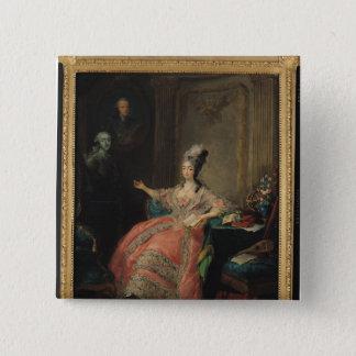 サヴォイのルイーズMarie Josephine 5.1cm 正方形バッジ