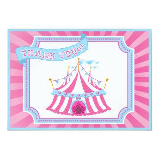 サーカスかカーニバル-サンキューカード カード