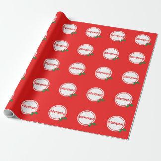 サーカスのヒイラギのすてきな包装紙 ラッピングペーパー
