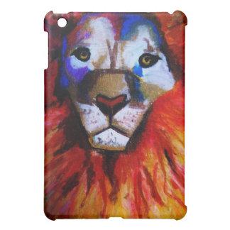 サーカスのライオンのIpadの場合 iPad Miniカバー