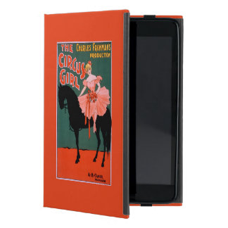 サーカスの女の子-馬の素人の演劇の女性 iPad MINI ケース