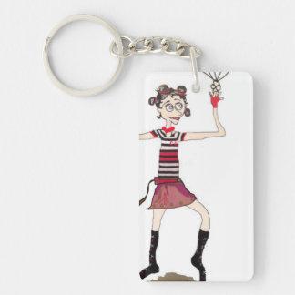 サーカスの女の子Keychain キーホルダー