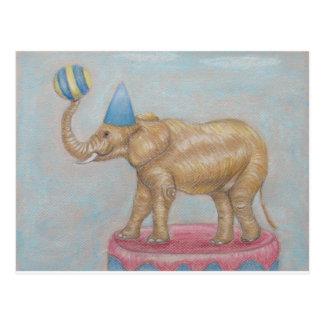サーカスの象 ポストカード