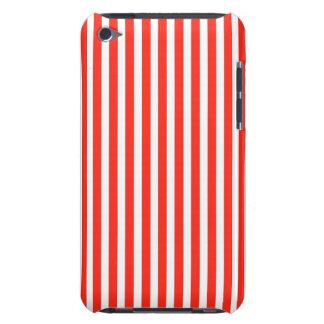 サーカスの赤と白の小屋は縞で飾ります Case-Mate iPod TOUCH ケース