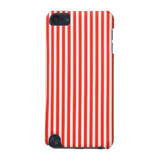 サーカスの赤と白の小屋は縞で飾ります iPod TOUCH 5G ケース
