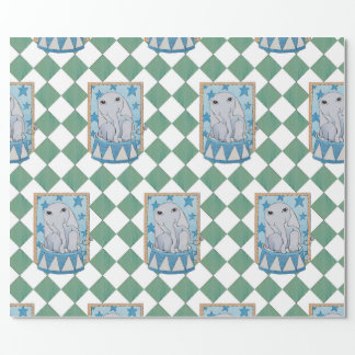 サーカス象の包装紙 ラッピングペーパー