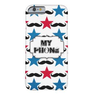 サーカス、口ひげおよび星 BARELY THERE iPhone 6 ケース