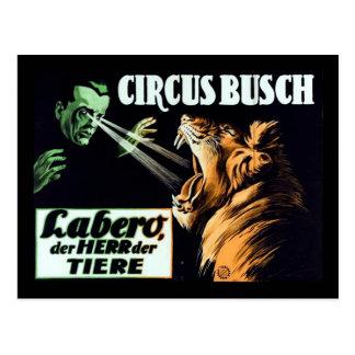 サーカスBusch、Labero Hypnotist ポストカード