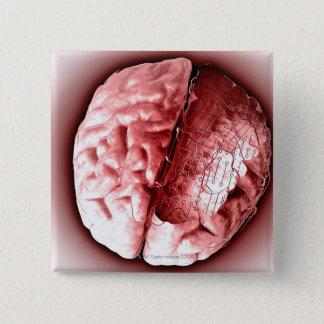 サーキットボードの頭脳 缶バッジ