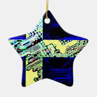 サーキットボードスウェーデン(旗) セラミックオーナメント