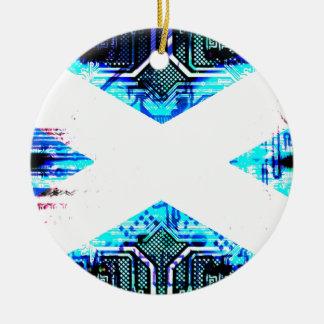 サーキットボードスコットランド(旗) セラミックオーナメント