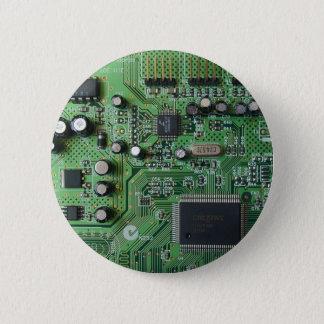 サーキットボードボタン 5.7CM 丸型バッジ