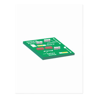 サーキットボード ポストカード