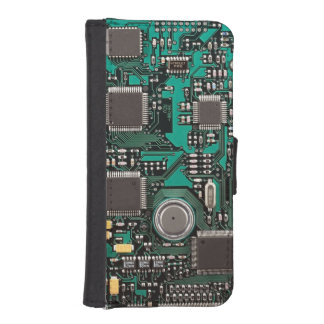 サーキットボード iPhoneSE/5/5sウォレットケース