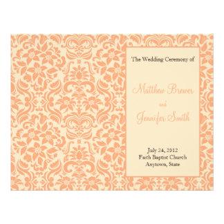 サービスおよび式プログラムの結婚式の順序 チラシ