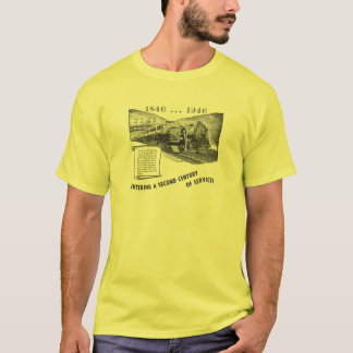 サービスのLehighの谷の鉄道2世紀 Tシャツ