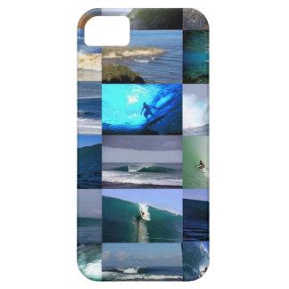 サーフの波のモンタージュ iPhone SE/5/5s ケース