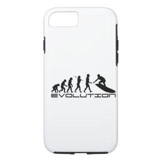 サーファーのサーフィンのスポーツの進化の芸術 iPhone 8/7ケース