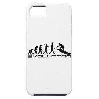 サーファーのサーフィンのスポーツの進化の芸術 iPhone SE/5/5s ケース