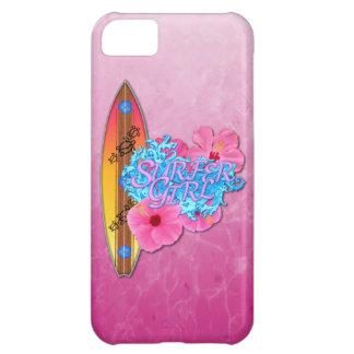 サーファーの女の子 iPhone5Cケース