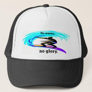サーファーの帽子:  波無し、栄光無し キャップ