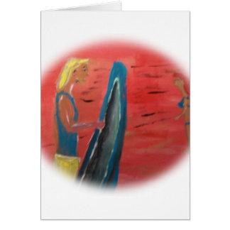 サーファーの男 カード