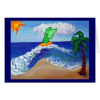 サーフィンの天使Raphaelカード カード