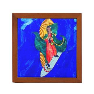 サーフィンの尼僧および赤の人魚の机のオルガナイザー ペンスタンド