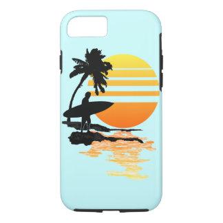 サーフィンの日の出 iPhone 7ケース